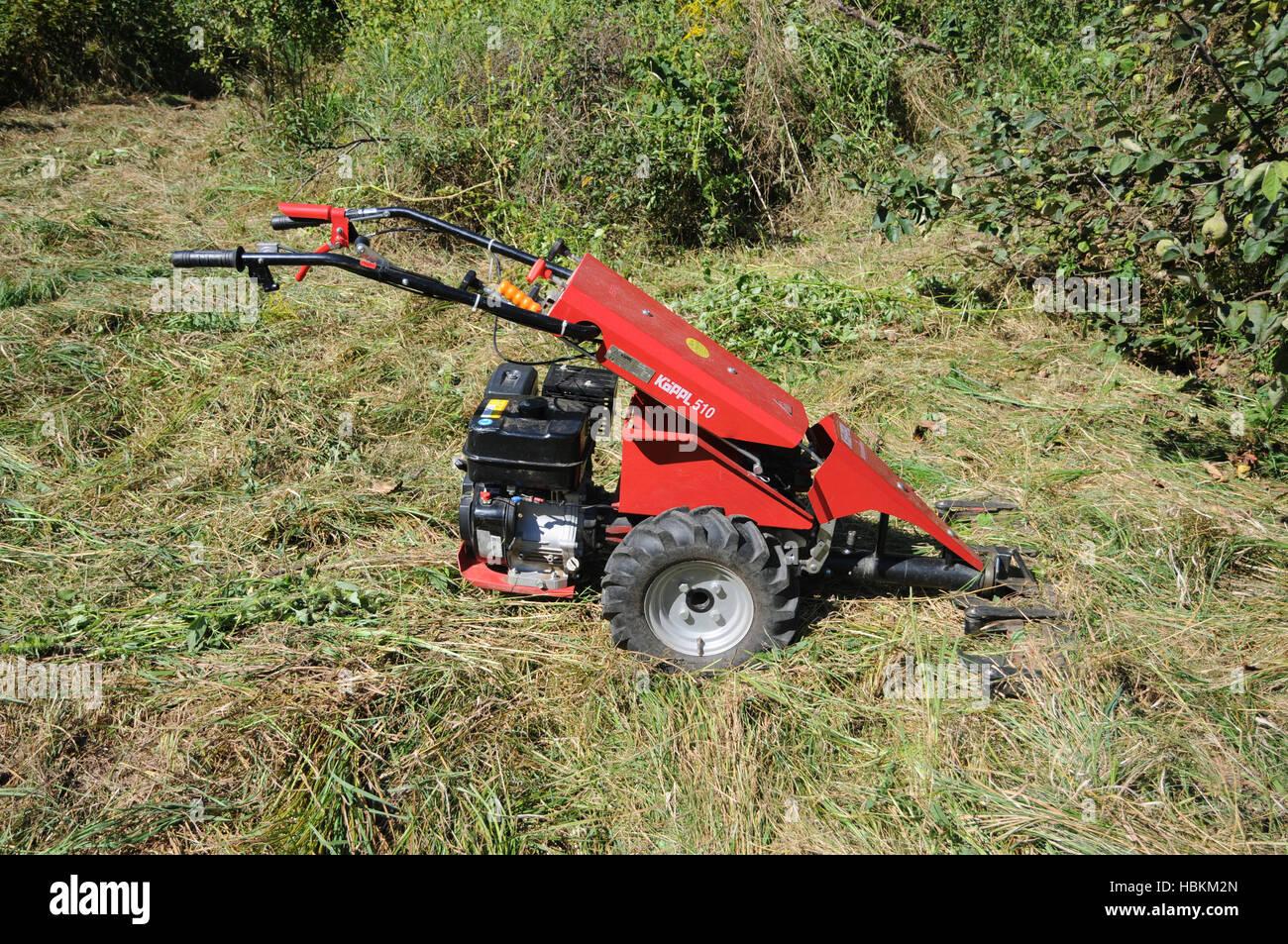 sickle bar mower - Stock Image