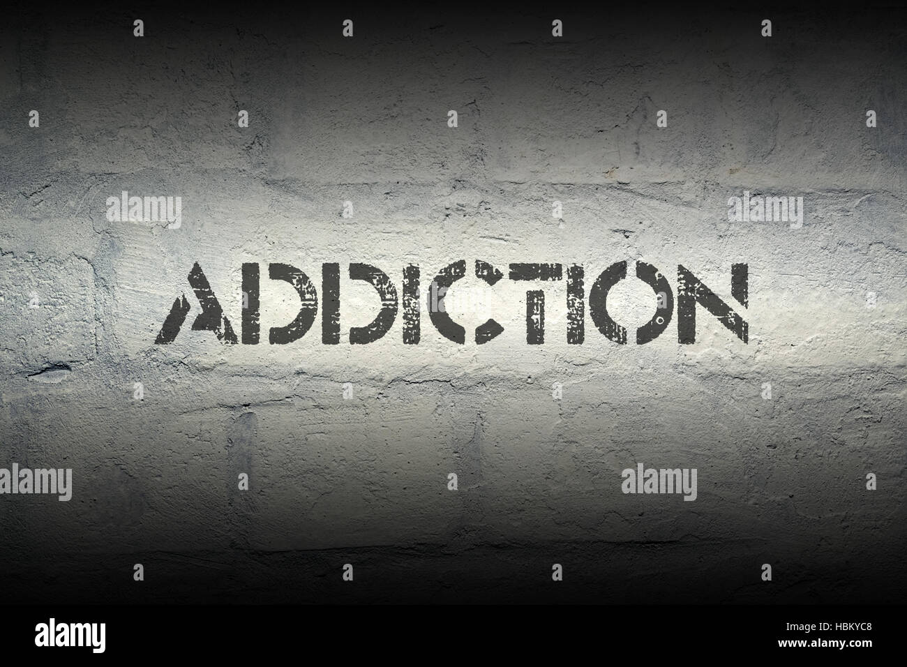 addiction - Stock Image