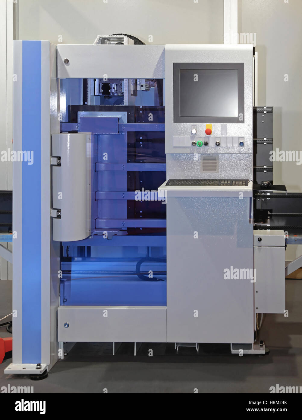 CNC Machining - Stock Image