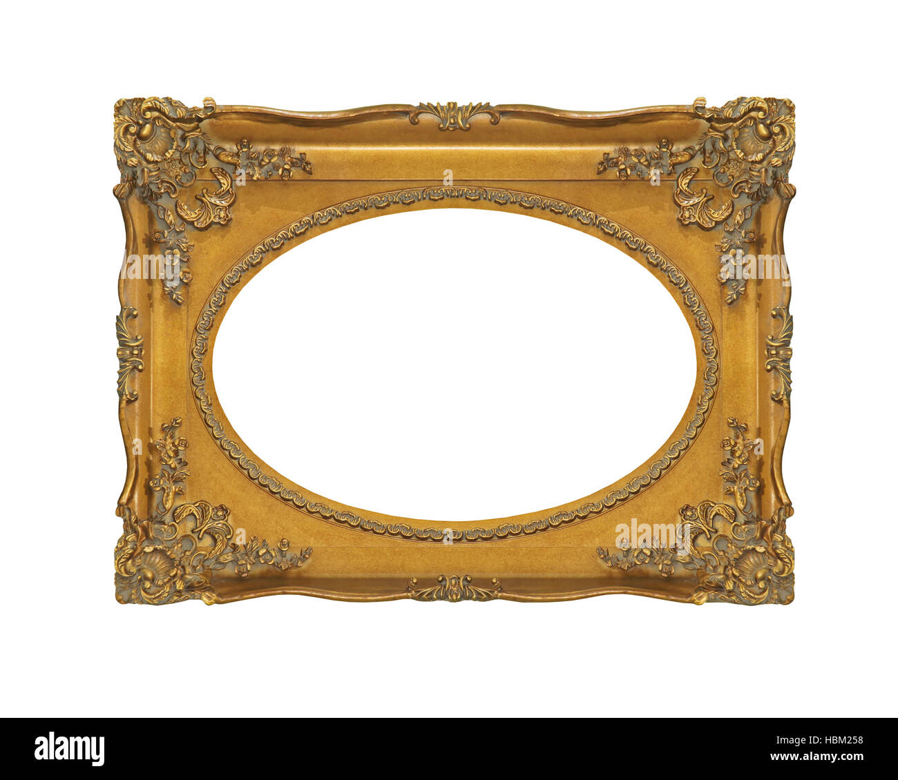Oval Frame Gold Stock Photos & Oval Frame Gold Stock Images - Alamy