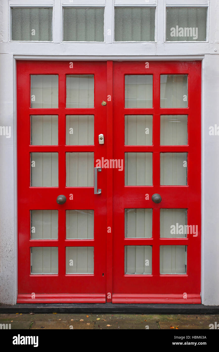 Terrace Door   Stock Image