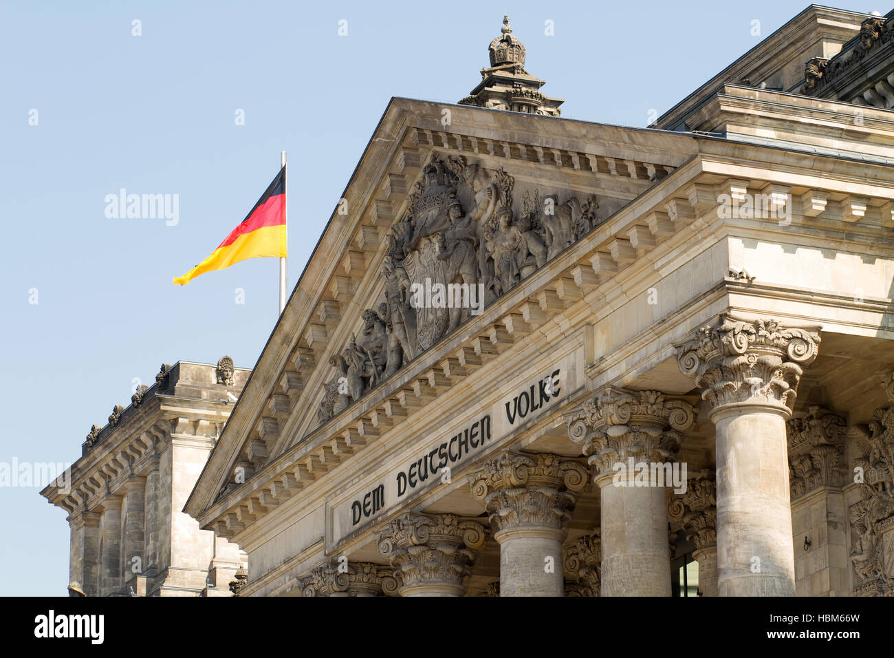 Reichstag Building 002. Berlin Stock Photo