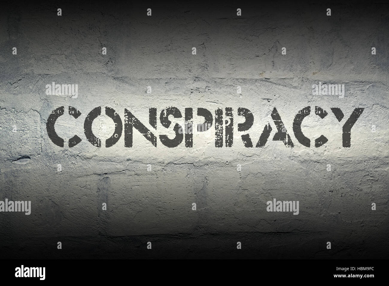 conspiracy - Stock Image