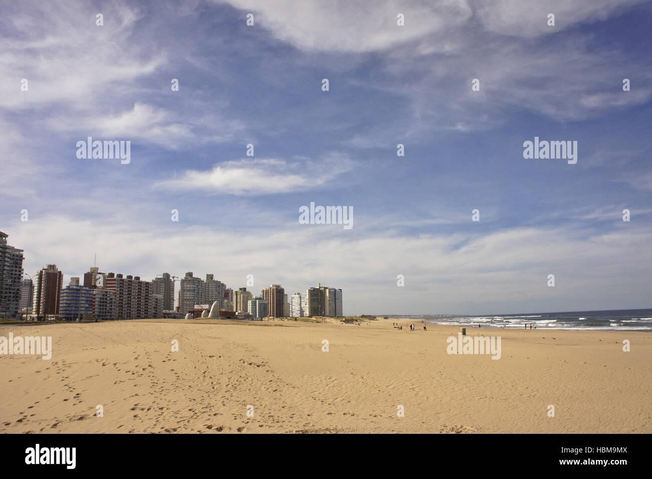 Uruguay, South America, punta del este - Stock Image