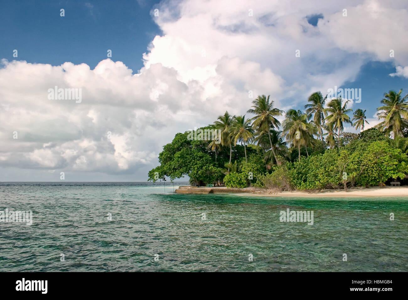 Maldive Islands Stock Photo