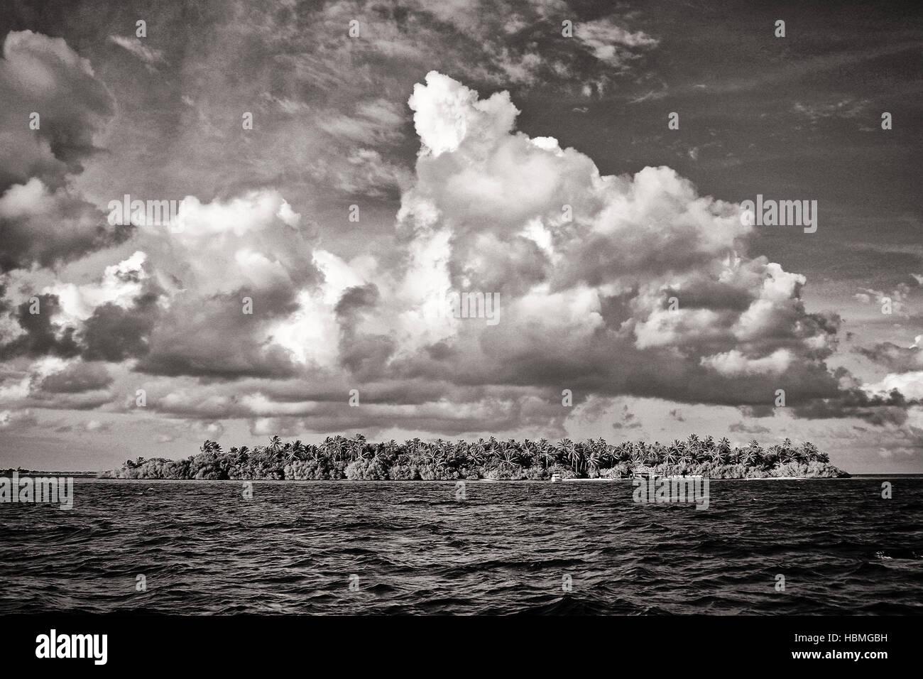 The Maldives Stock Photo