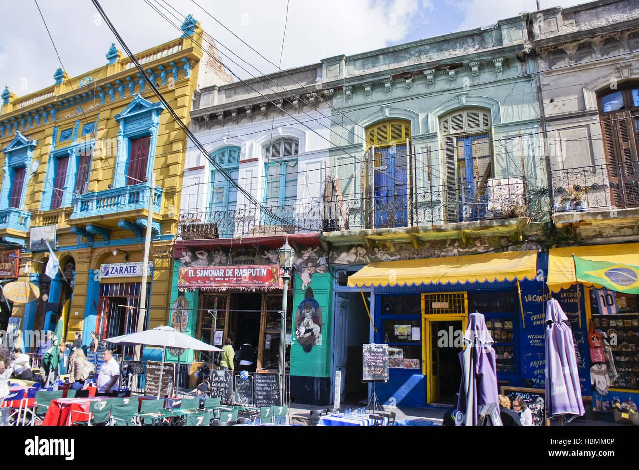 Argentina, Buenos Aires, La Boca, caminito - Stock Image