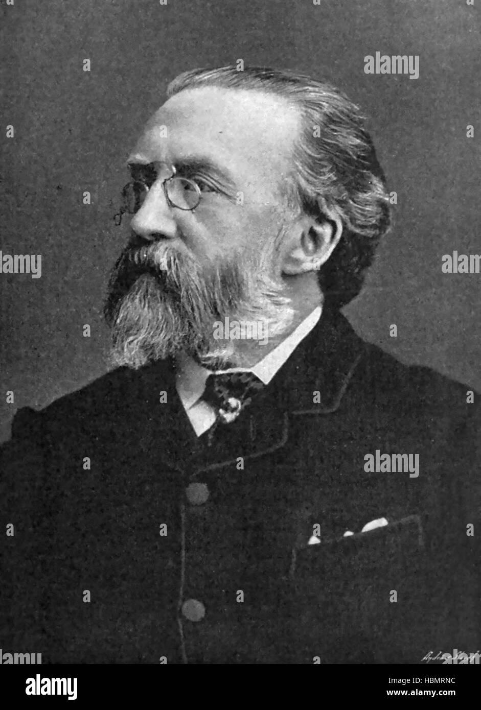 JUSTIN McCARTHY (1830-1912) Irish nationalist politician - Stock Image