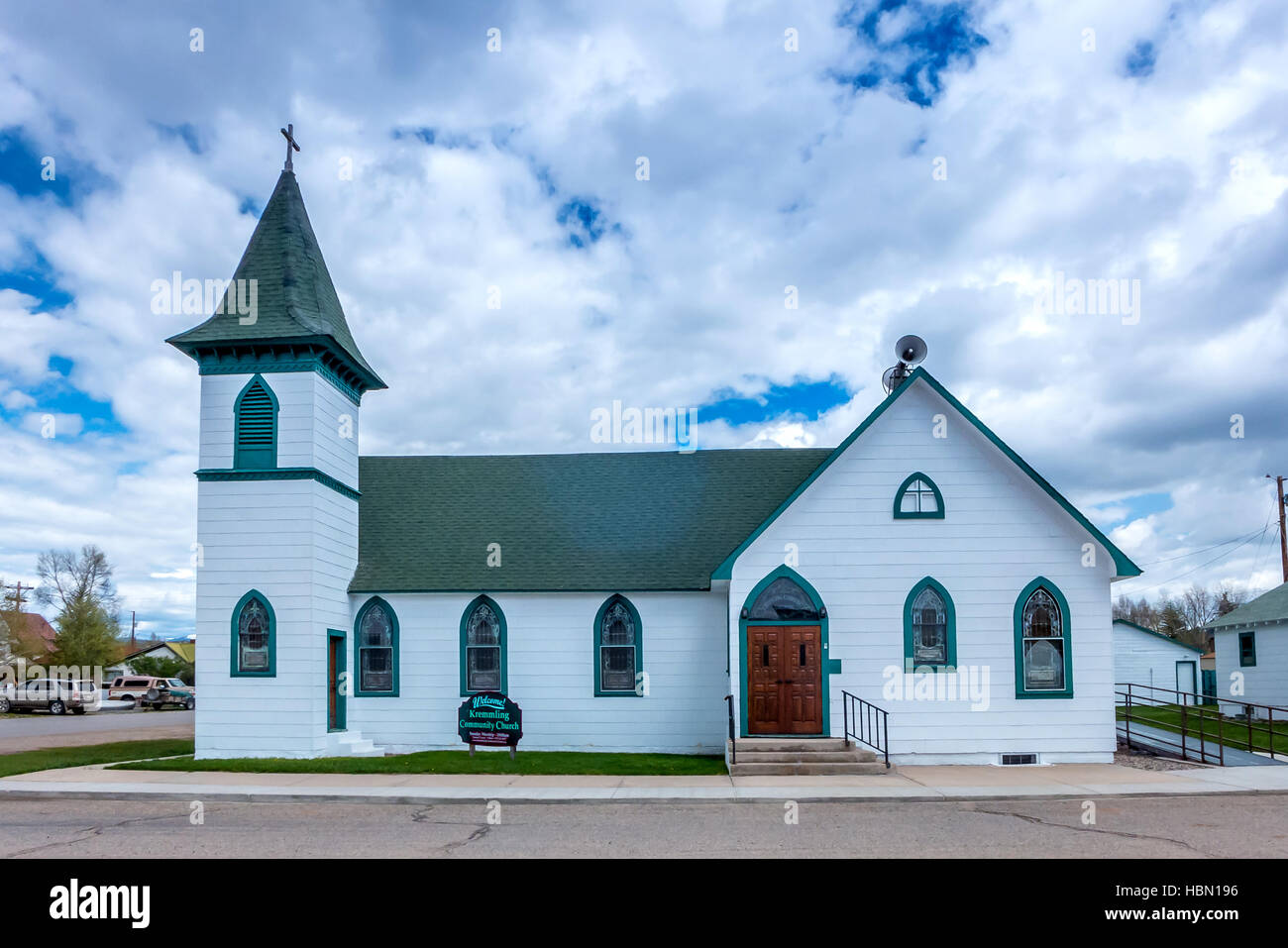 Church Or Chapel In Small Town America Stock Photo 127695826 Alamy