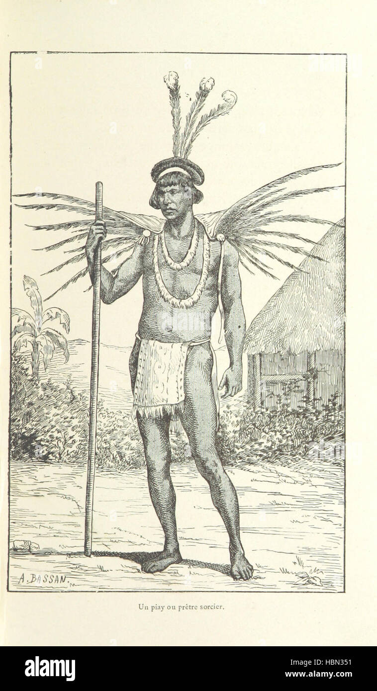 Les Français en Guyane ... Illustrations, etc. [With a preface by H. A. Coudreau.] Image taken from page 75 of - Stock Image