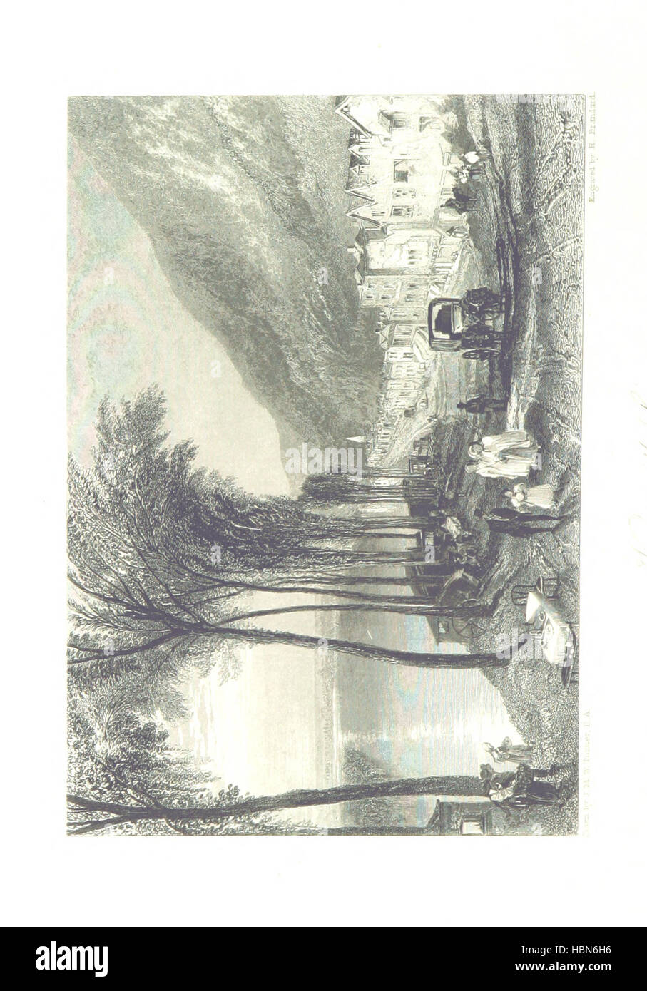 Turner's Rivers of France, with an introduction by John Ruskin. A series of ... steel engravings, ... described - Stock Image
