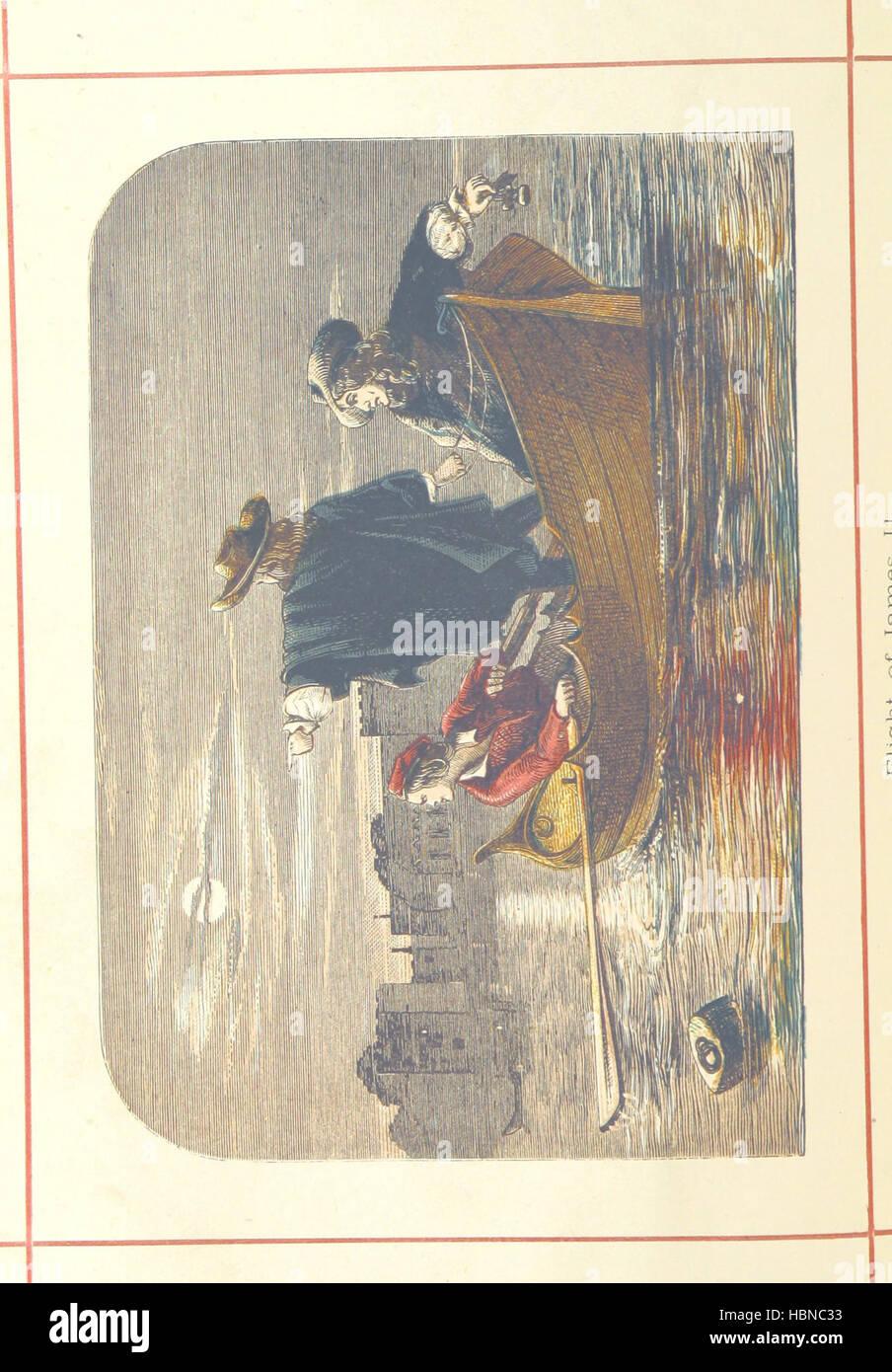 Hanes Prydain Fawr: o'r cyfnod boreuaf hyd yr amser presenol, etc. [With plates.] Image taken from page 214 - Stock Image