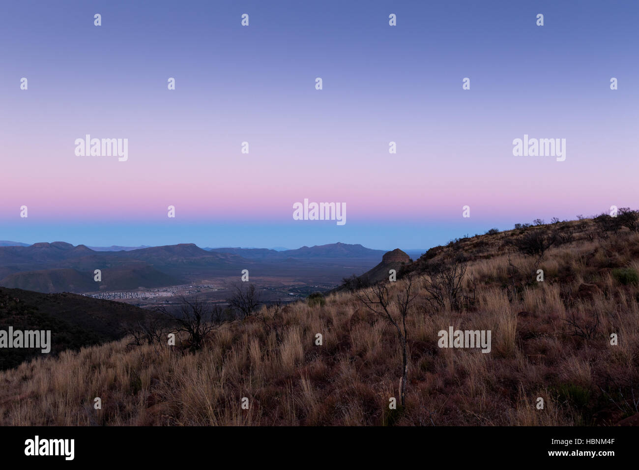Valley Of Desolation - Stock Image