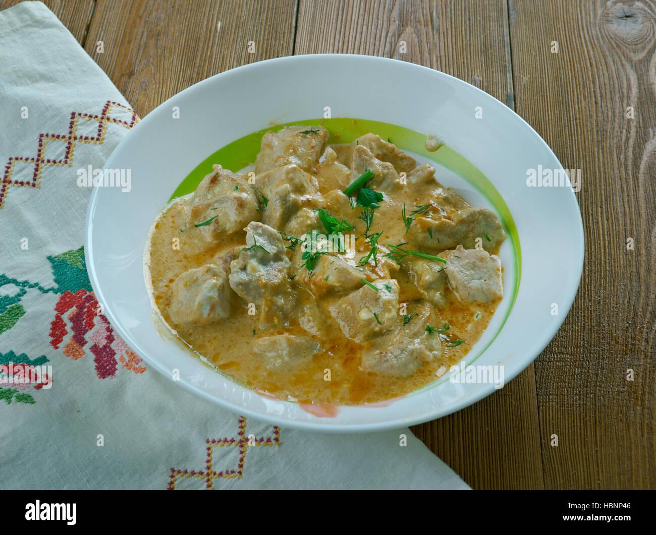 Chicken Satsivi or Chicken in Bage 40