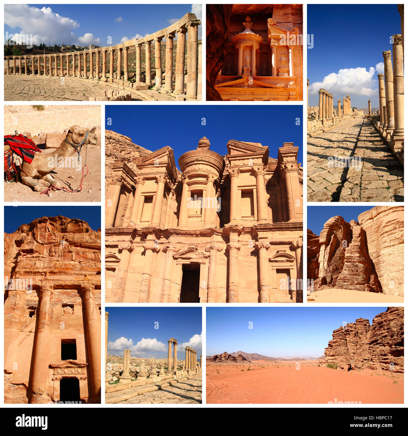 Impressions of Jordan - Stock Image