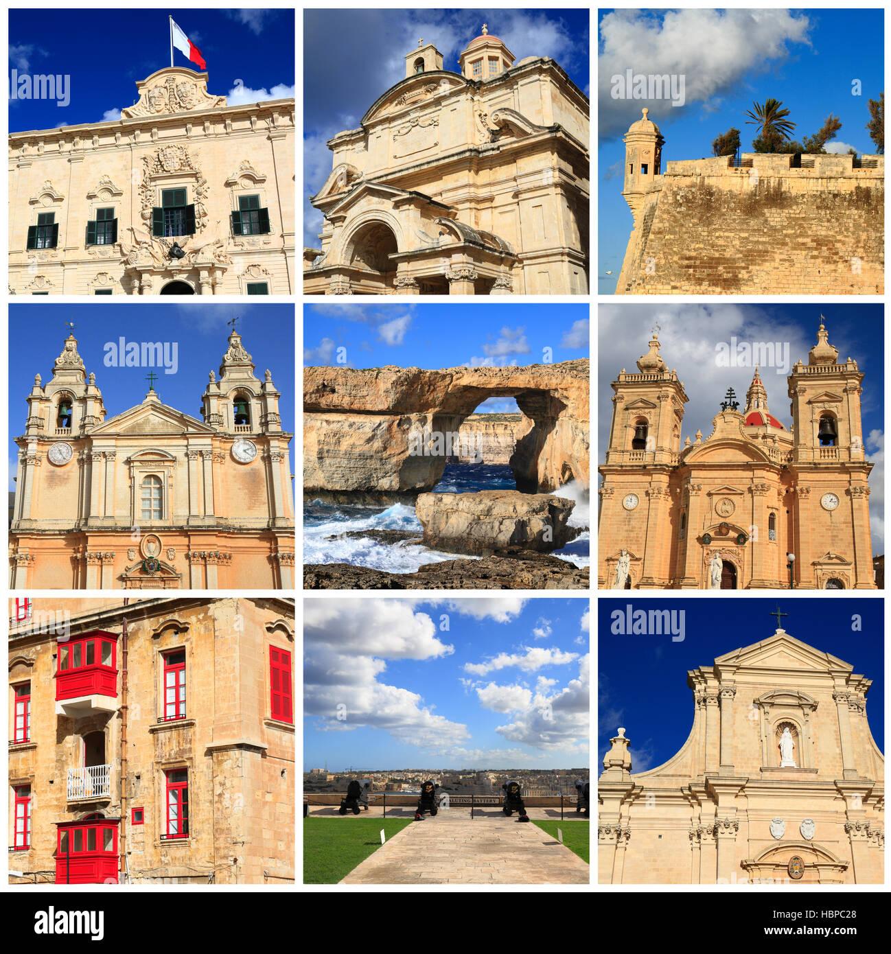 Impressions of Malta - Stock Image