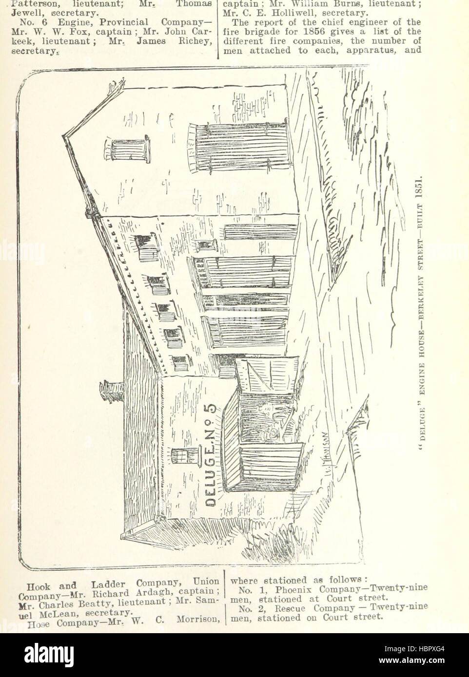 Image taken from page 51 of 'Robertson's Landmarks of Toronto. A collection of historical sketches of the - Stock Image