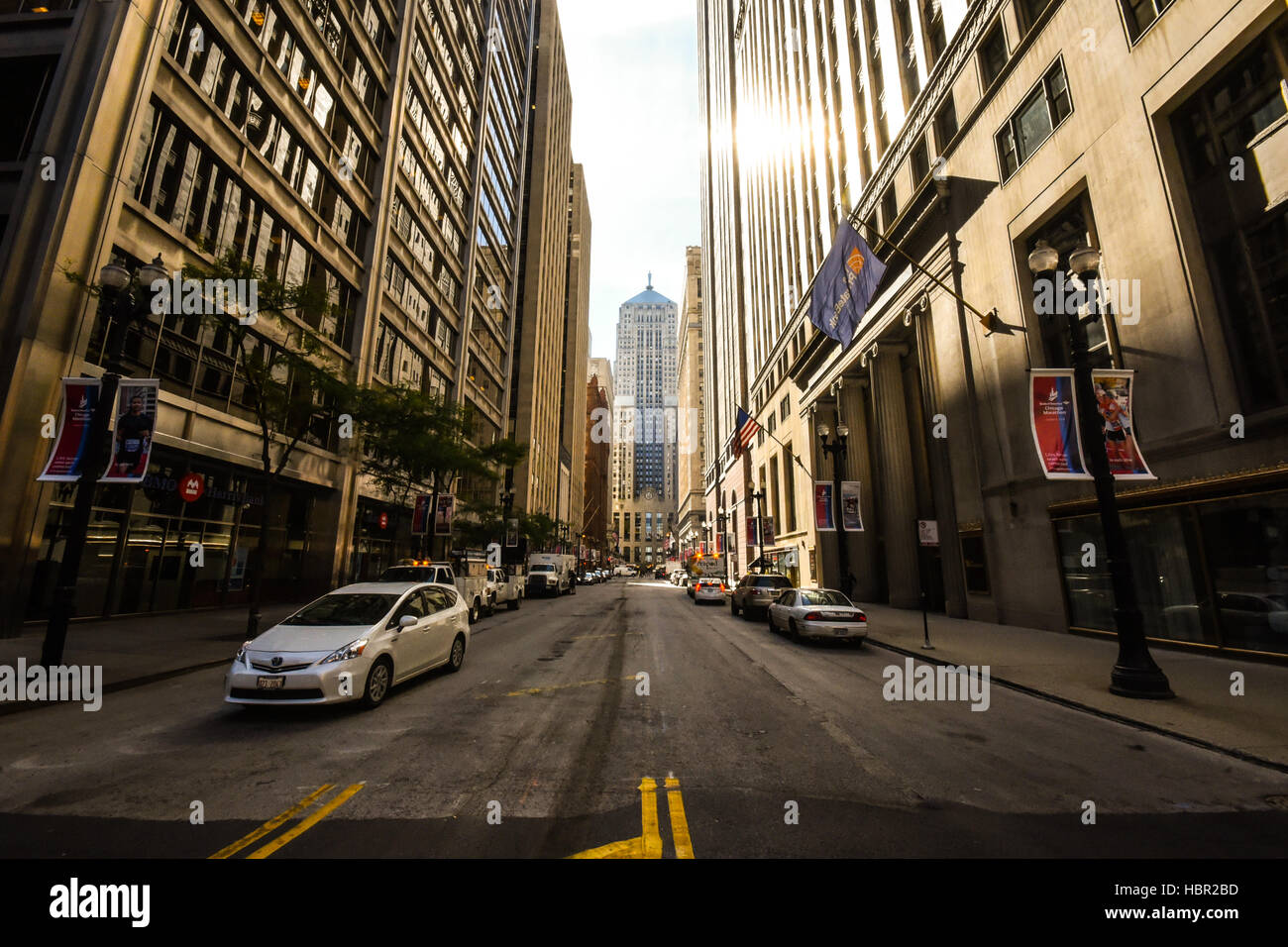 Chicago Board of Trading. Chicago, IL,  S Lasalle St - Stock Image