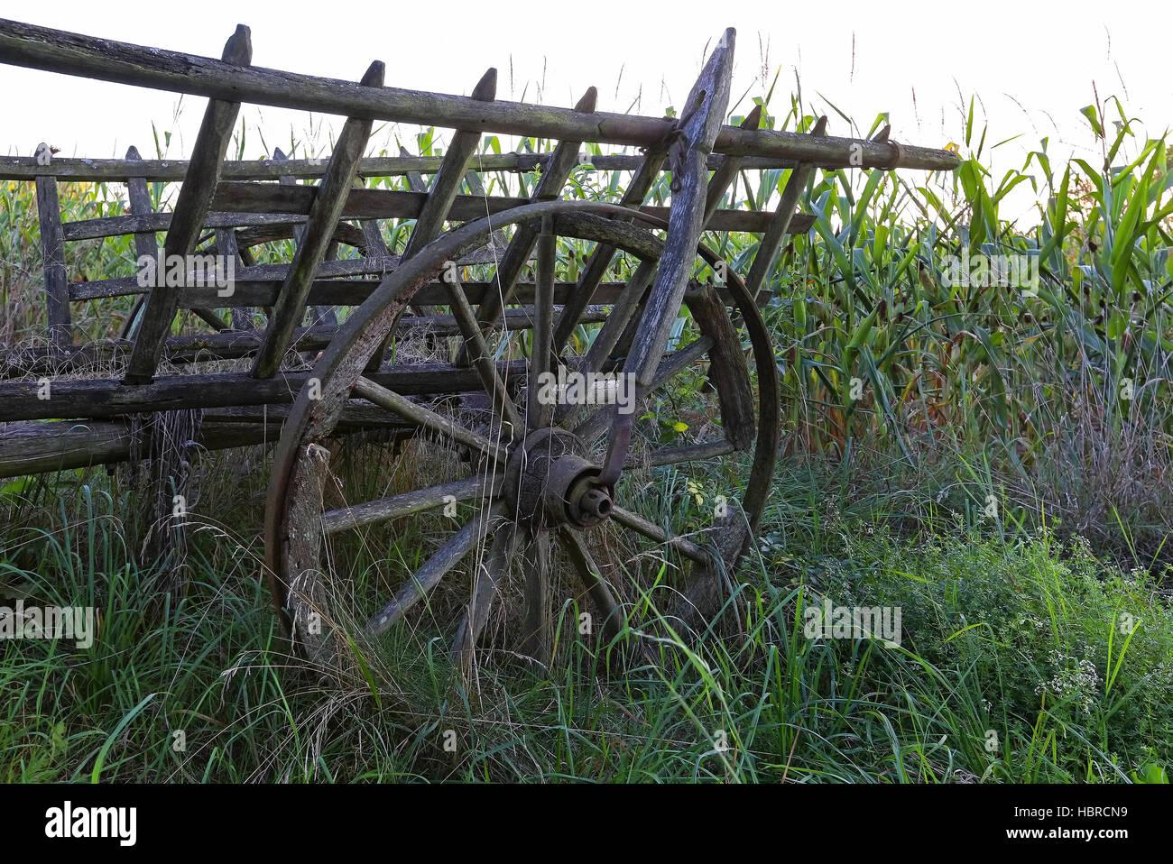hayrack Stock Photo
