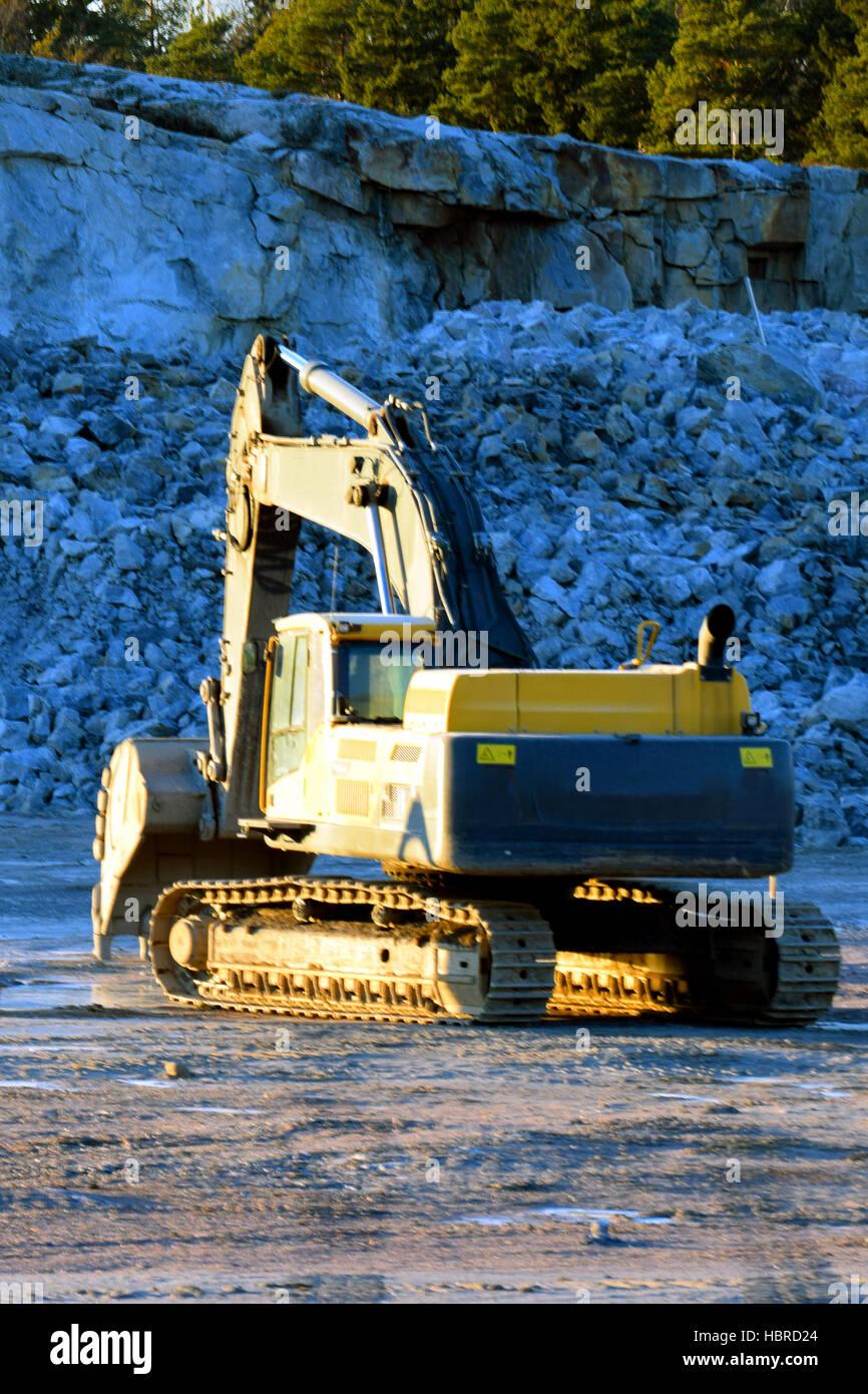 Excavator - Stock Image