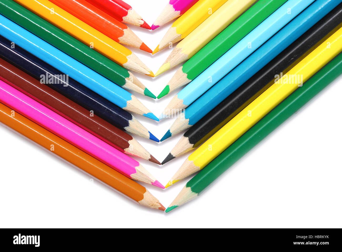 pencils - Stock Image