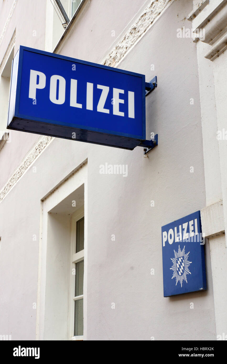 Symbol Police Station Stock Photo 127759147 Alamy