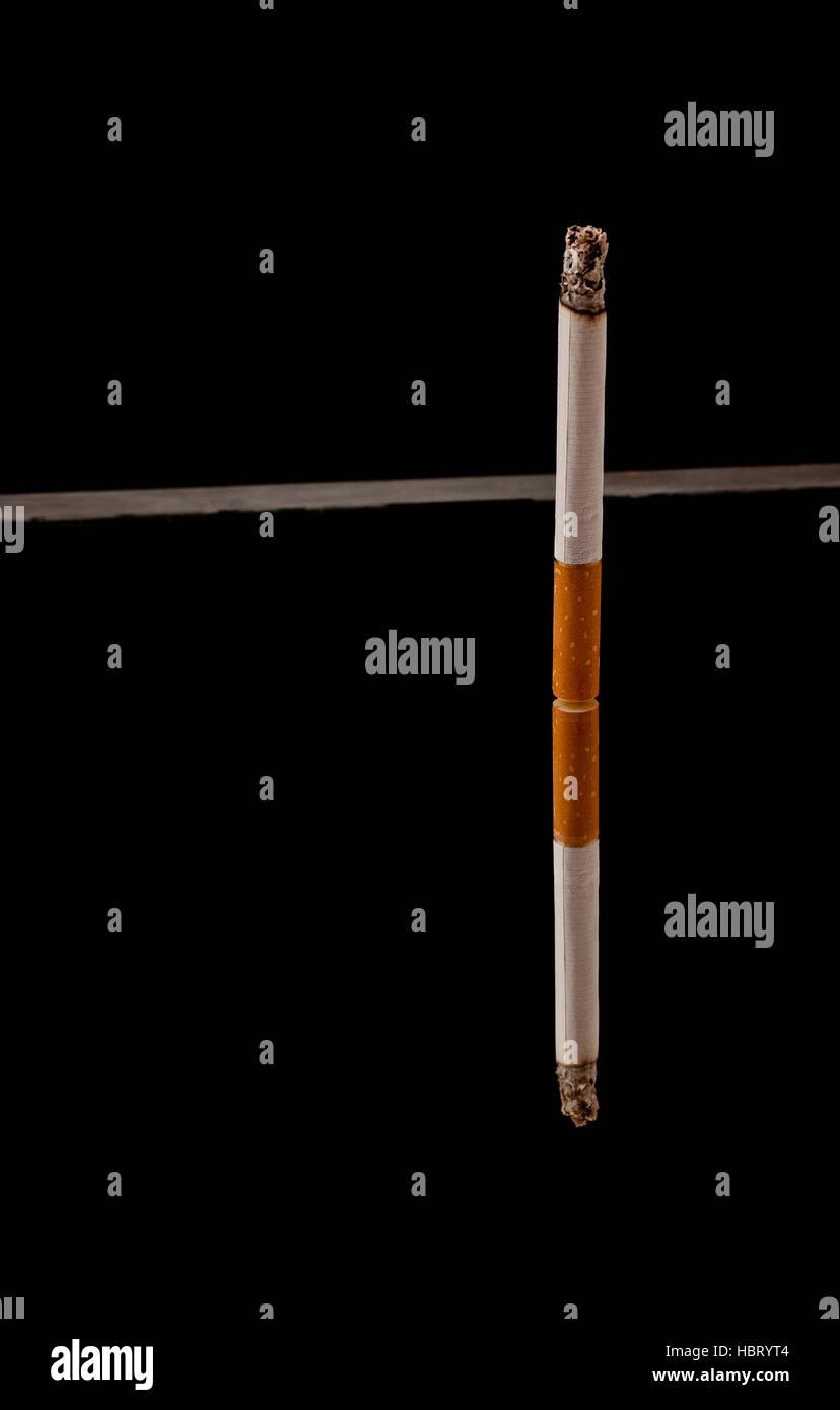 more smoking - Stock Image
