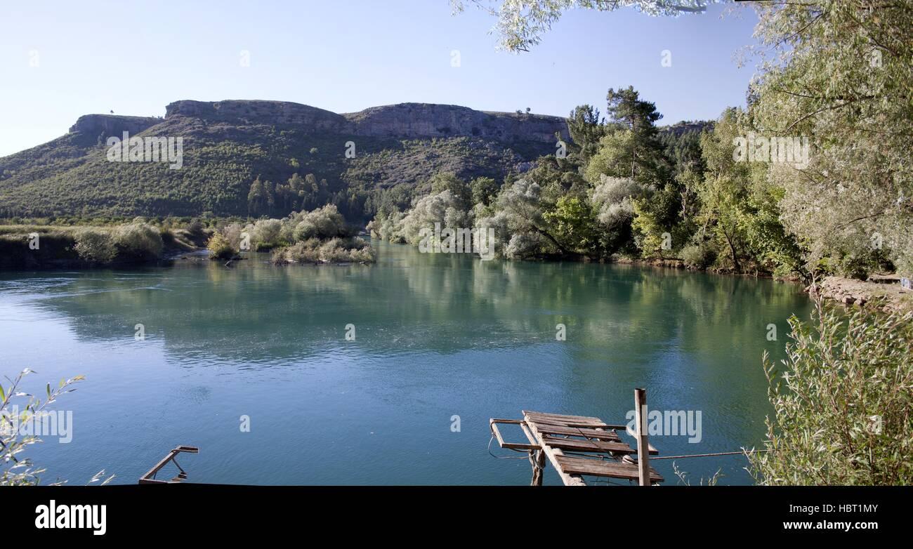 River Manavgat, Turkey Stock Photo