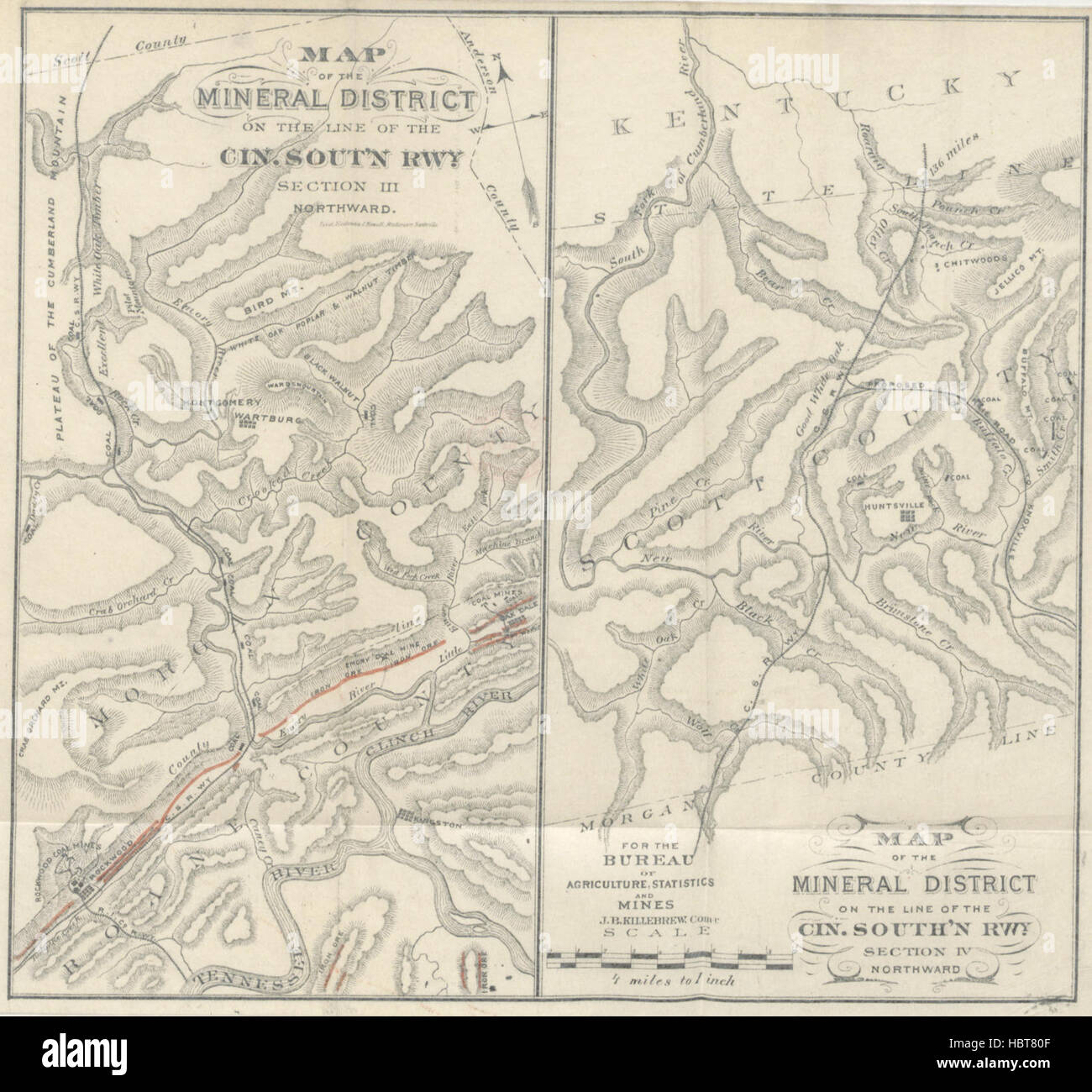Mineral and Agricultural Resources of the portion of Tennessee along ...