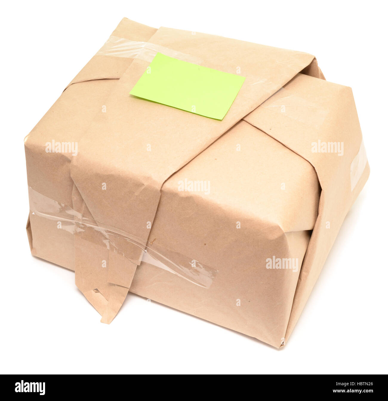 shipping box - Stock Image