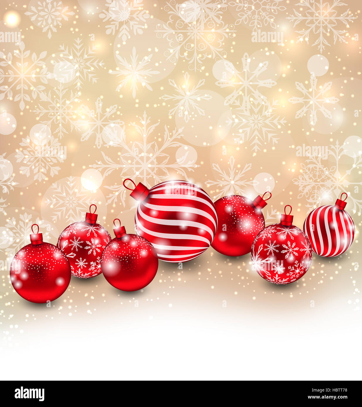 Christmas Abstract Shimmering Background - Stock Image