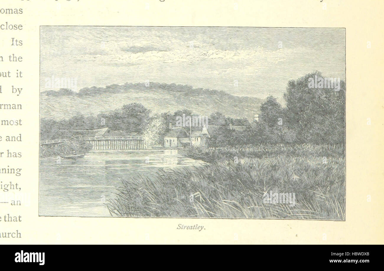Image taken from page 102 of 'The Thames from its Source to the Sea ... Illustrated with ... engravings ... - Stock Image