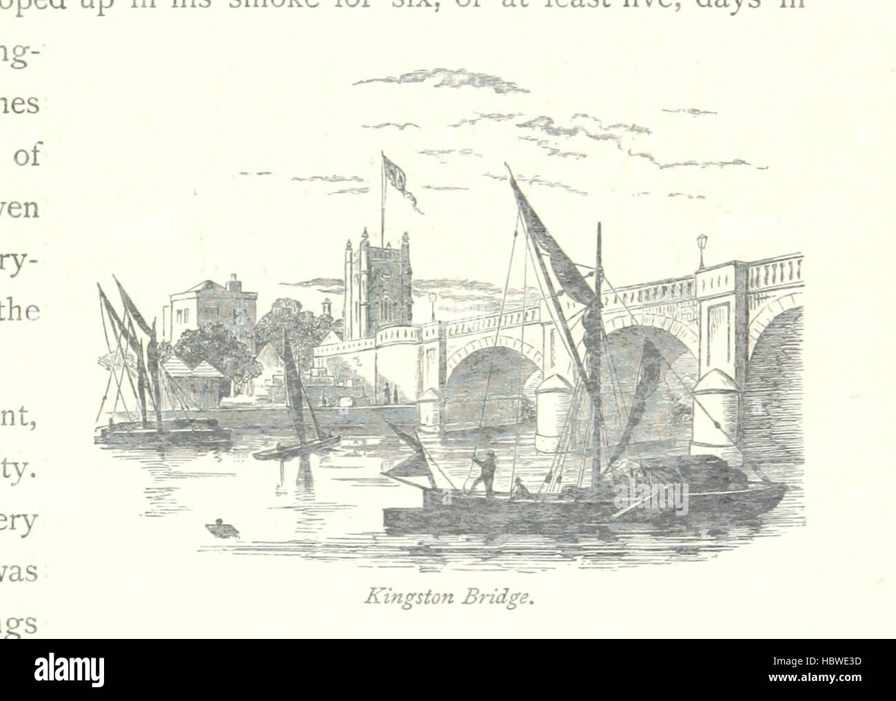 Image taken from page 63 of 'The Thames from its Source to the Sea ... Illustrated with ... engravings ... and - Stock Image