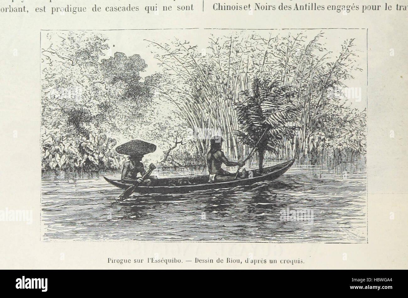 Image taken from page 848 of '[Géographie. La Terre à vol d'oiseau ... Troisième édition illustrée - Stock Image