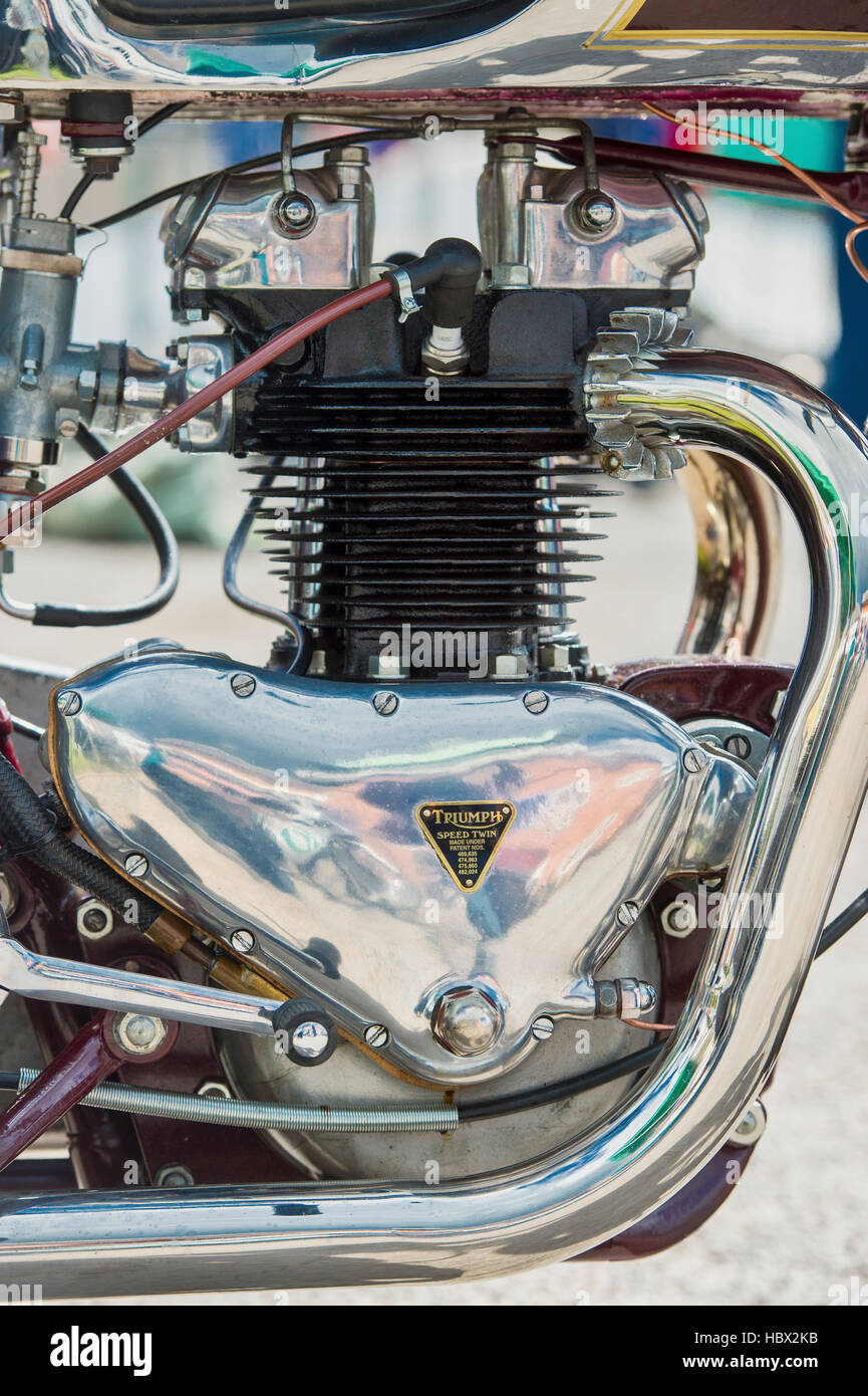Triumph Speed Twin High Resolution Stock Photography And Images Alamy