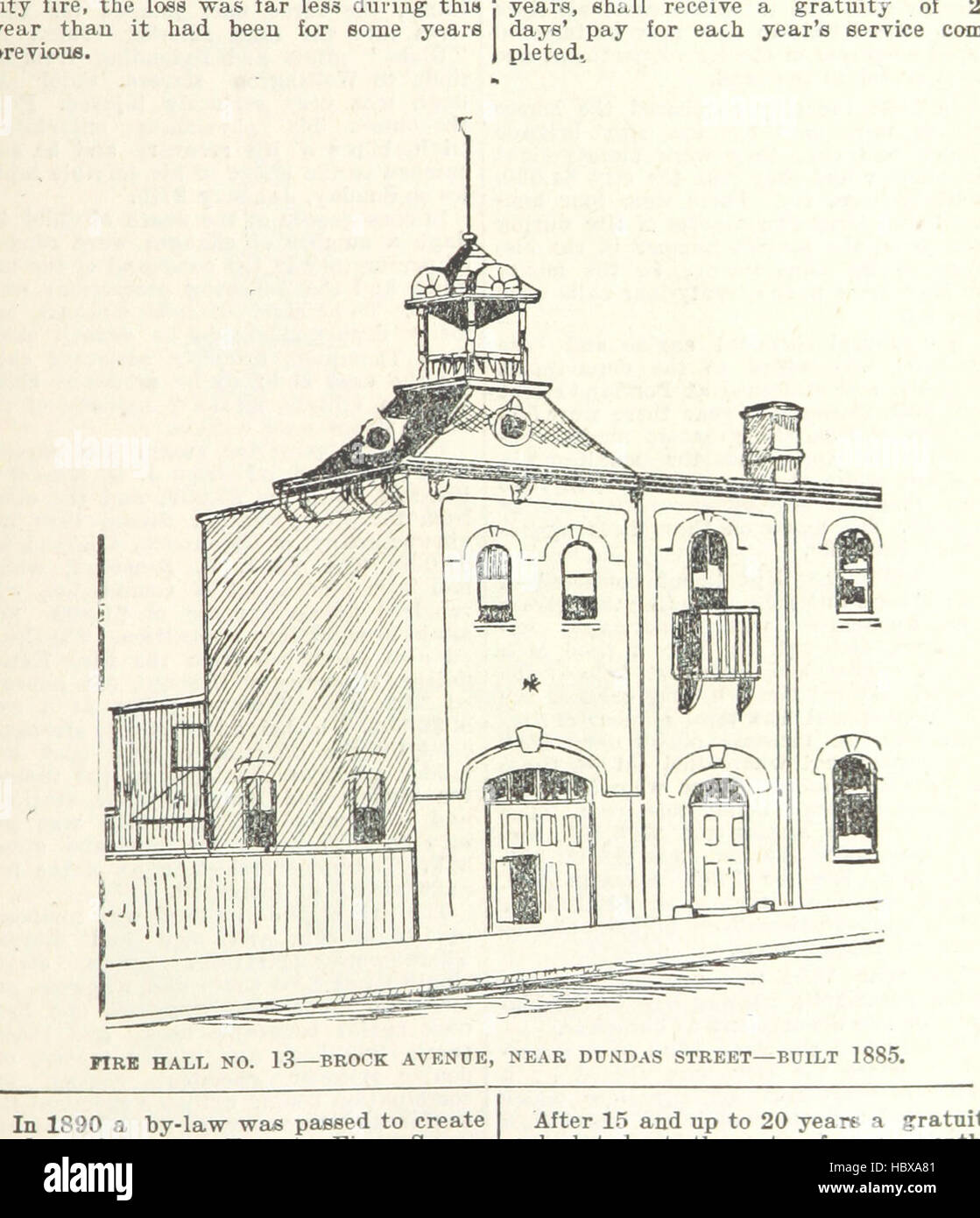 Image taken from page 73 of 'Robertson's Landmarks of Toronto. A collection of historical sketches of the - Stock Image