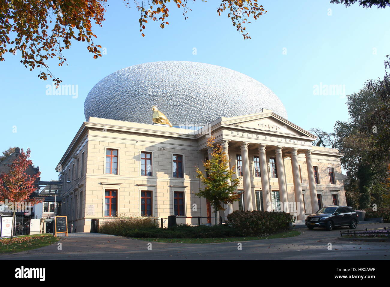Museum De Fundatie, museum for the visual arts in Zwolle, Netherlands - Stock Image