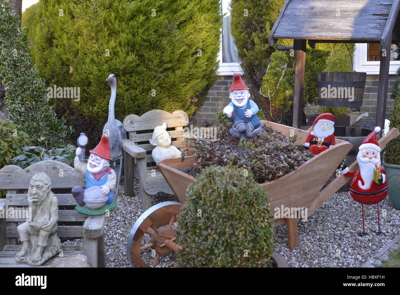 garden gnomes santa garden christmas decorations peter rabbit carrots
