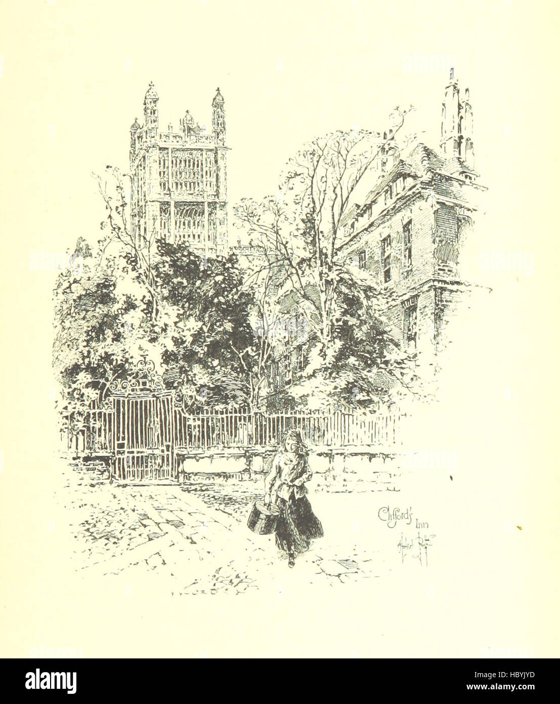Image taken from page 289 of 'The Inns of Court and Chancery ... New edition' Image taken from page 289 - Stock Image