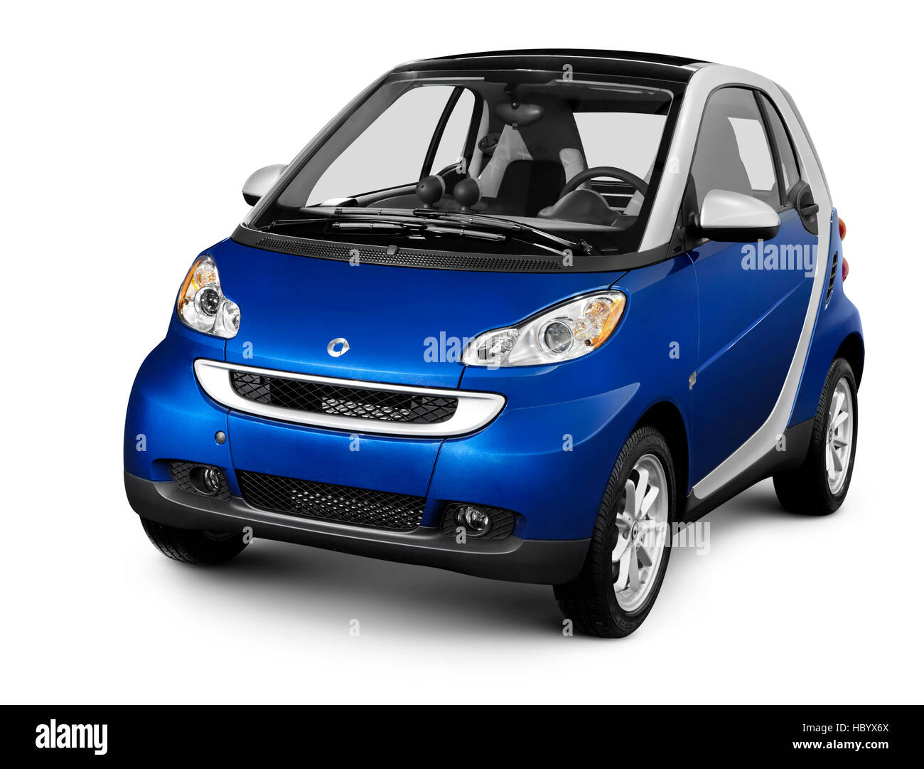 2008 Smart Fortwo, fuel efficient mini city car - Stock Image