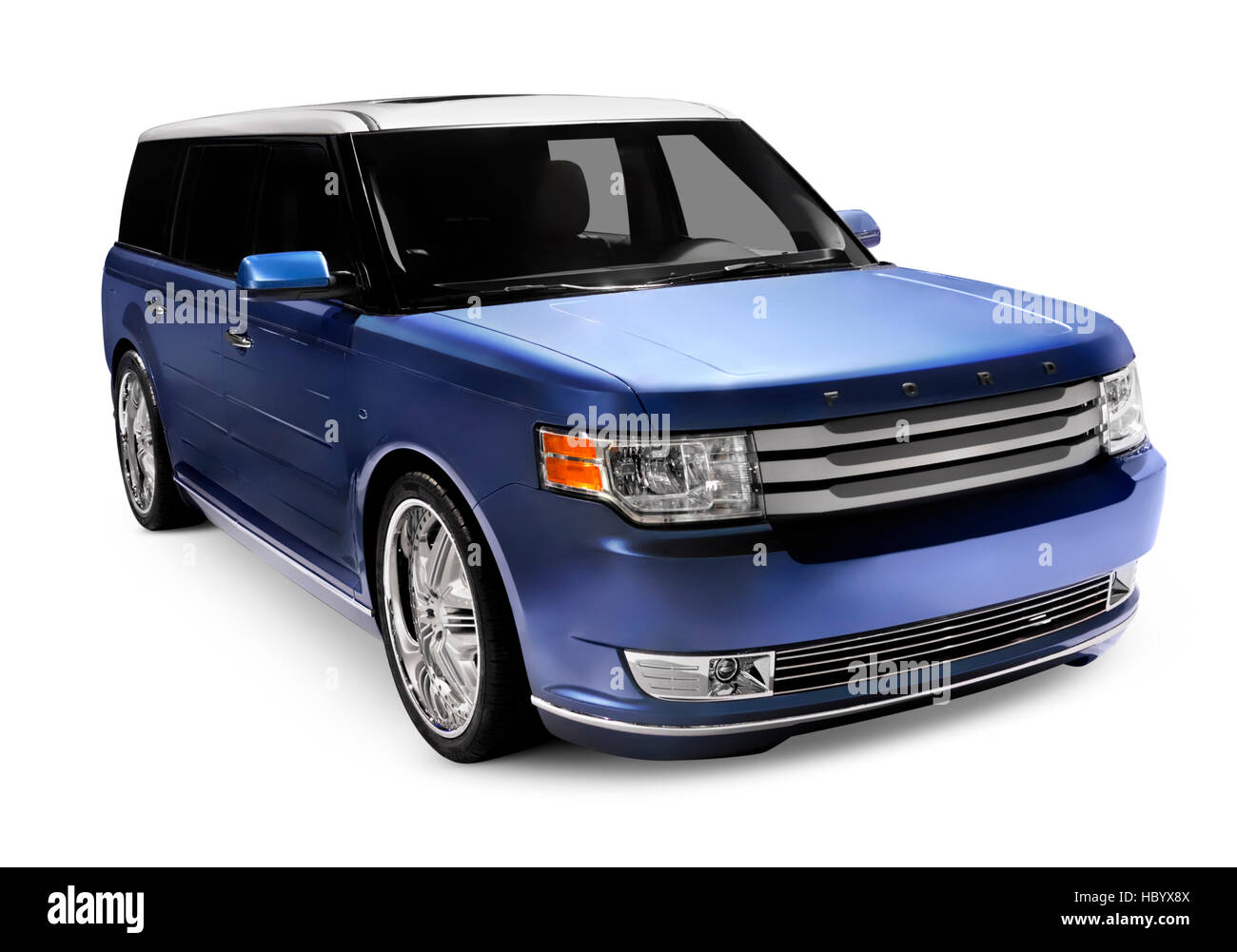 2009 Ford Flex crossover utility vehicle, CUV - Stock Image