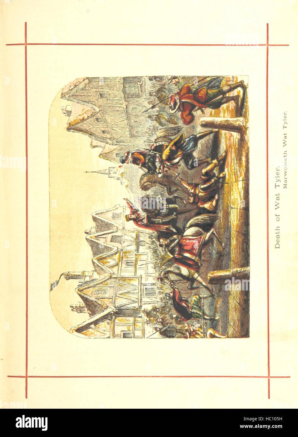 Hanes Prydain Fawr: o'r cyfnod boreuaf hyd yr amser presenol, etc. [With plates.] Image taken from page 355 - Stock Image