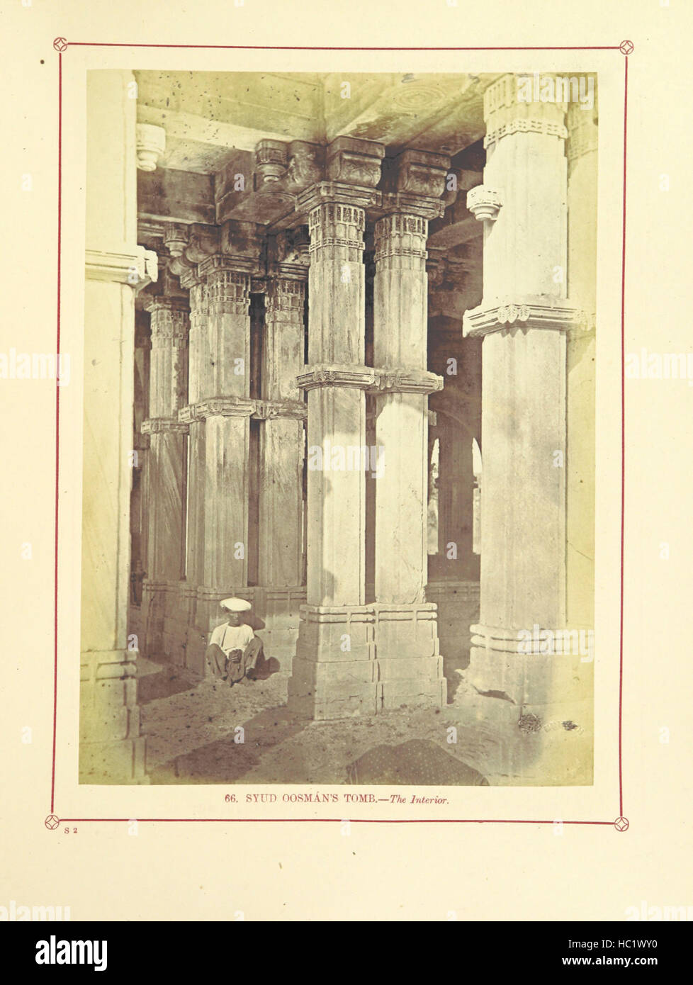 Image taken from page 257 of 'Architecture at Ahmedabad, the - Stock Image