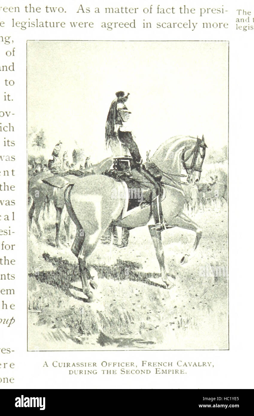 Image taken from page 333 of 'The Growth of the French Nation' Image taken from page 333 of 'The Growth of the Stock Photo