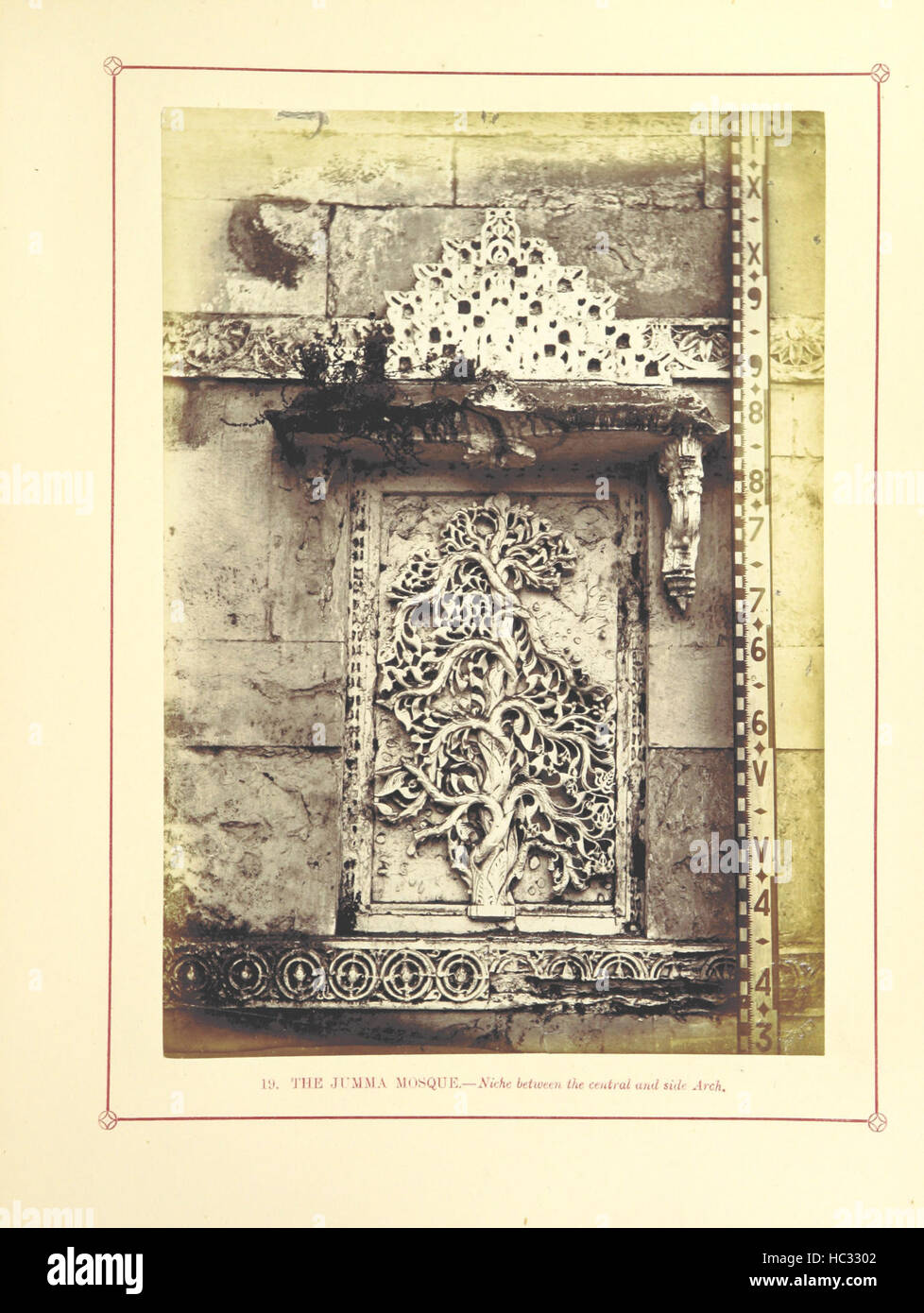 Image taken from page 163 of 'Architecture at Ahmedabad, the Stock Photo