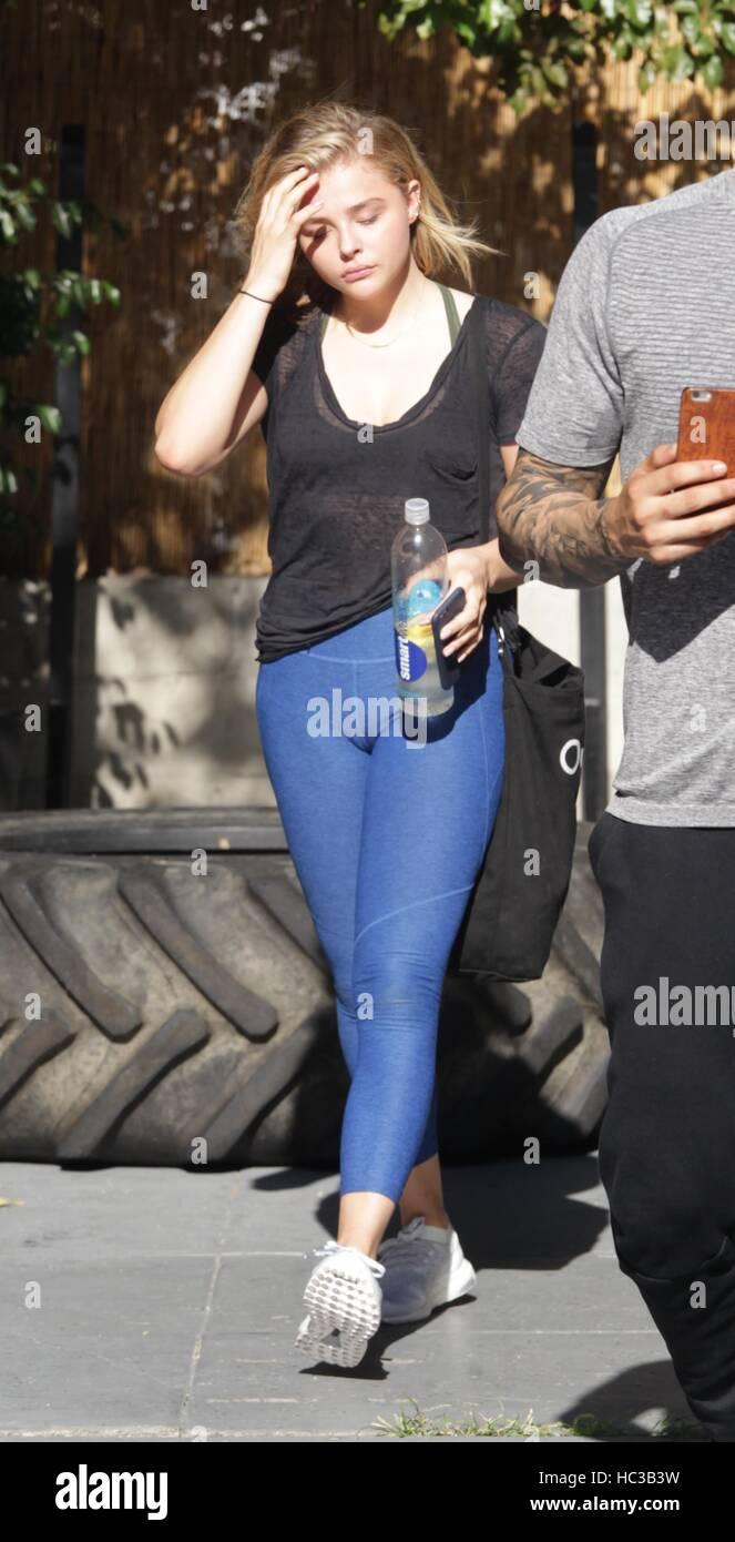 foto de Chloe Grace Moretz leaving the gym in Hollywood Featuring: Chloe ...