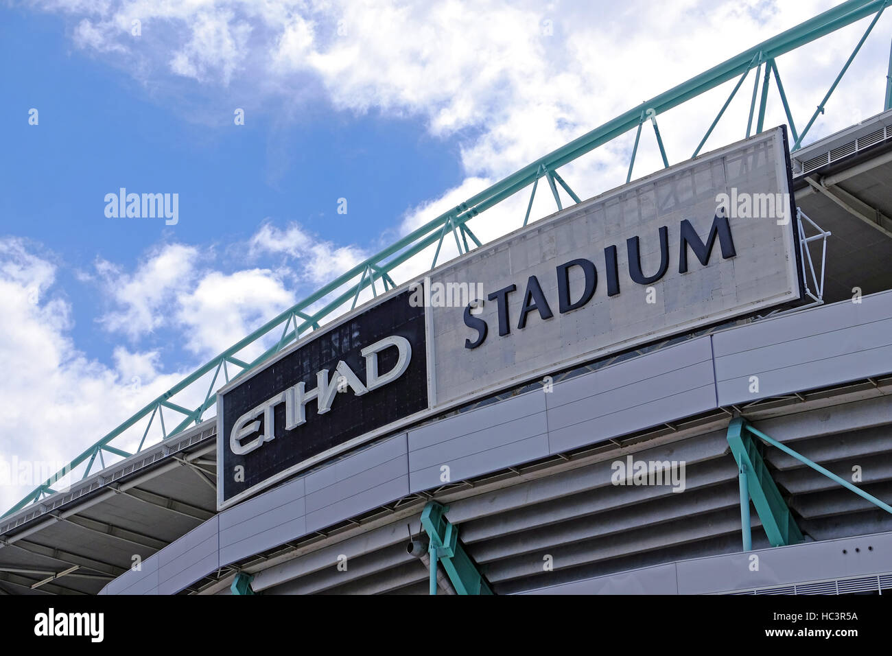 The Etihad Stadium in Melbourne, Australia - Stock Image