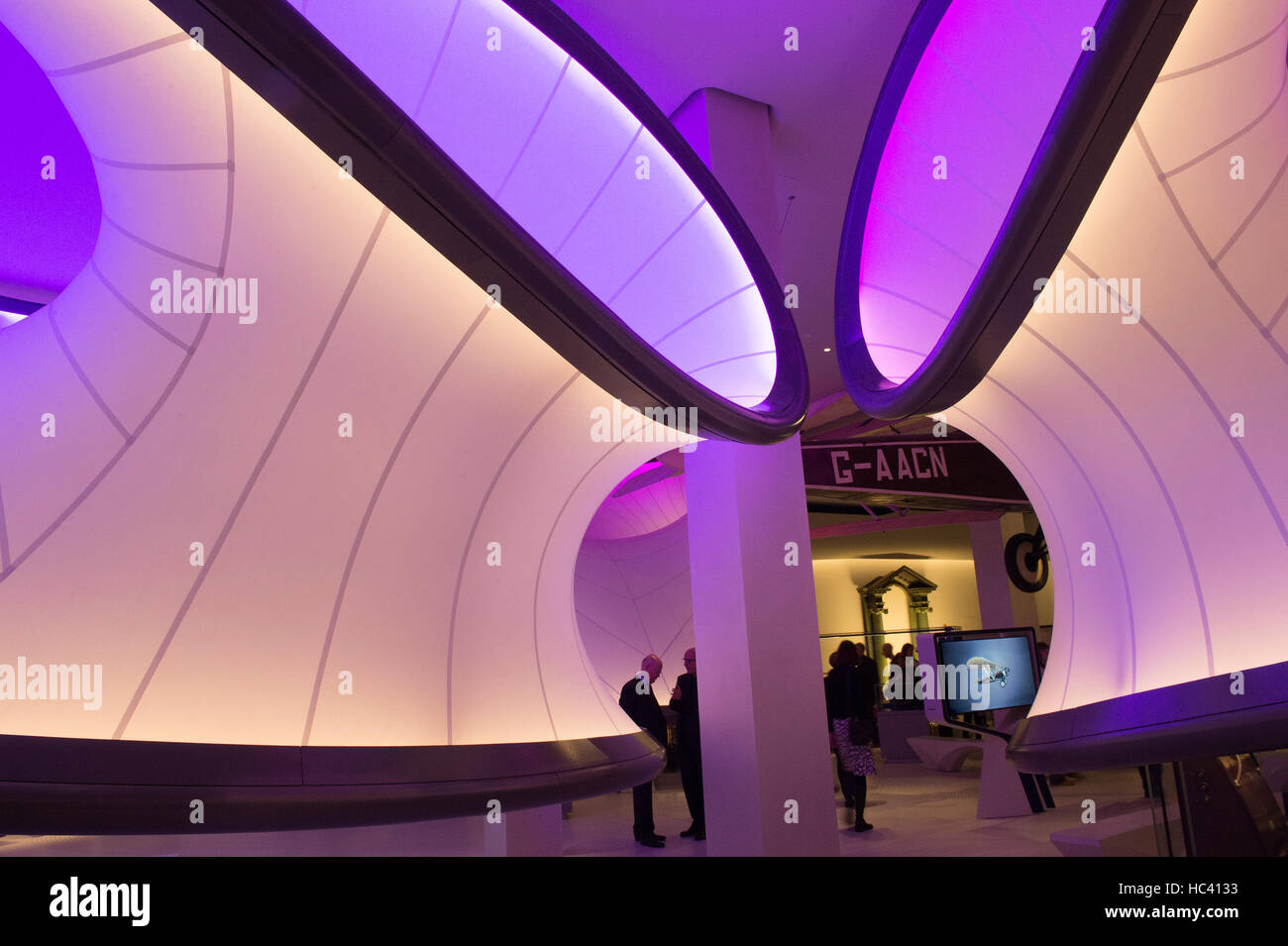 The Science Museum, London, UK. 7th December 2016. Mathematics: The Winton Gallery, press preview. Designed by the Stock Photo