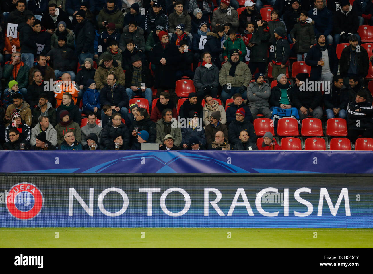 Leverkusen, Germany. 7th December, 2016. Champions League group E, matchday 6, Bayer Leverkusen vs AS Monaco FC: - Stock Image