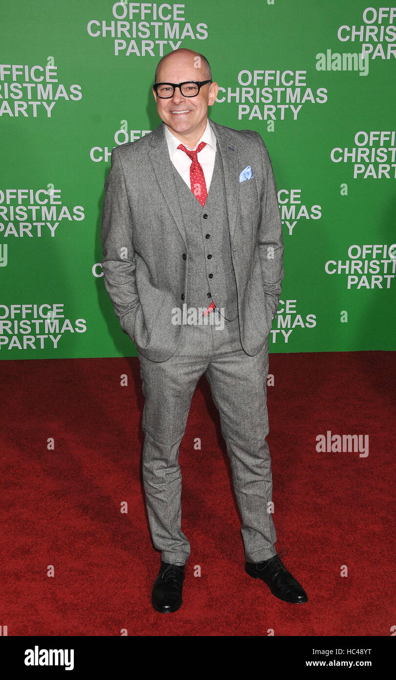 Los Angeles, California, USA. 7th Dec, 2016. December 7th 2016 - Los Angeles California USA - Actor ROB CORDDRY - Stock Image